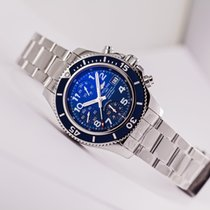 Breitling Chronomat Superocean Chronograph Blue Dial