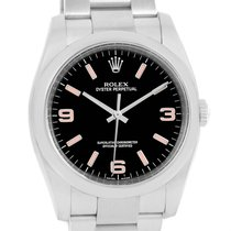 Rolex Oyster Perpetual 36 Pink Baton Hour Markers Unisex Watch...