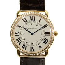 Cartier Ronde Louis Cartier 18 K Rose Gold With Diamonds...