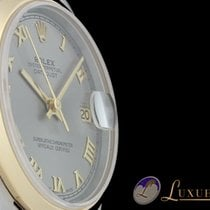 Rolex Datejust Medium 18kt Gelbgold/Edelstahl Metallic 31mm