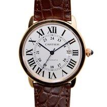 Cartier Ronde Solo De Cartier Rose Gold White Automatic W6701009