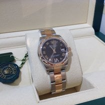 Rolex Lady-Datejust 31mm Rose Chocolate Dial Diamond 6 July 2017