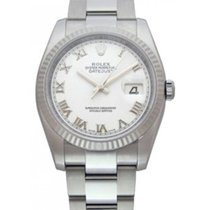Rolex Datejust Ladies' 26mm White Dial Stainless Steel...