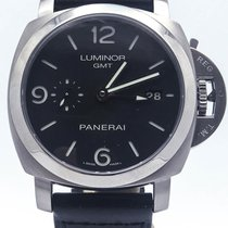 Panerai Luminor 1950 Pam320 Gmt 3 Day Automatic Movement...