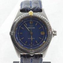 Breitling Antares Automatik Herren Uhr Stahl/gold B10048 2