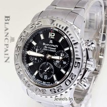 Blancpain Air Command Flyback Chronograph Steel Watch 2285F...