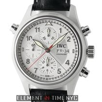 IWC Pilot Collection Pilot Double Chronograph Silver Spitfire...