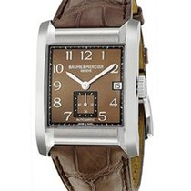 Baume & Mercier Hampton Rectangular Brown Dial - 10028