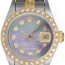 Rolex Ladies 2-Tone Datejust Watch 69173 Stainless Steel &...