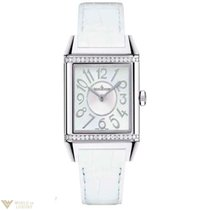 Jaeger-LeCoultre Squadra Ladies Duetto Diamonds Leather Ladies...