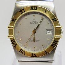 Omega CONSTELLATION Steel & Gold Quartz Gent's Used Watch