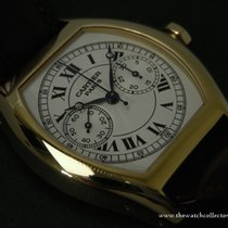 Cartier : Rare Collection Privée Tortue Mono Poussoir Yellow Gold