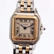Cartier Panthere Two Tone Gold/Steel Medium