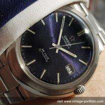 Omega Original Omega Geneve De Ville with amazing blue Linen dial