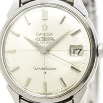 Omega Vintage Omega Constellation Cal 561 Rice Bracelet Steel...