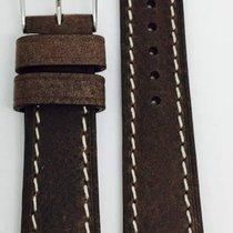 Kaufmann Saddle Vintage Lederband dunkelbraun 20/18mm 2044 11