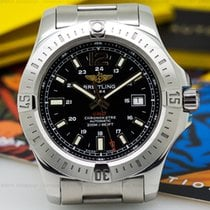 Breitling A17388 Colt Black Dial SS / SS Automatic 44mm (25976)