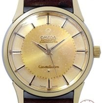 Omega Mans Automatic Wristwatch Constellation Chronometer
