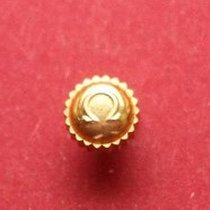 Omega Krone in doublé Ø 4,5mm, Höhe 2,70mm, Gesamthöhe 5,2mm...