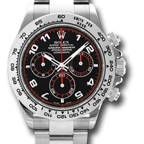 Rolex Daytona, Ref. 116509 - schwarz arabisch Zifferblatt