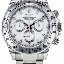 Rolex Daytona 116520 White Dial, Light Blue, APH  NEW