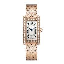 Cartier Tank Americaine Quartz Ladies Watch Ref WB710008