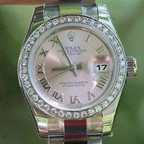 Rolex Ladies Datejust 2013 Oyster Unworn Box Tags Warranty...