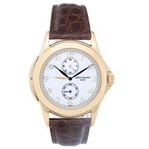 Patek Philippe Collectible  Travel Time Men's 18k Yellow...