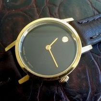 Zenith Movado Museum 20M Gold Plated, Black Dial