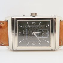 Jaeger-LeCoultre Reverso 18k White Gold Duoface Night & Day