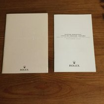 Rolex 2007 OYSTER PERPETUAL BOOKLET+ NOV 2006 PRICE LIST SPANISH