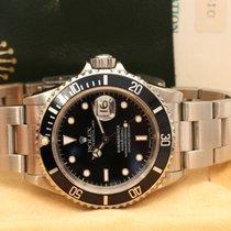 Rolex Submariner Date tritium dial X serie box papers booklets