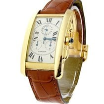 Cartier W2605856 Tank Americaine - Chronograph with Chronoflex...