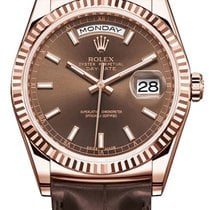 Rolex DAY-DATE Chocolate Dial
