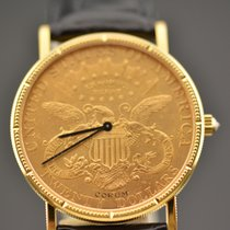 Corum 20 DOLLARS 1902  DOUBLE EAGLE MANUAL WHIT DIAMOND