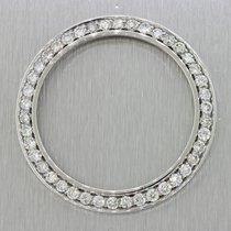 Rolex DateJust II G SI1-SI2 Brilliant 4ctw Custom Diamond Bezel