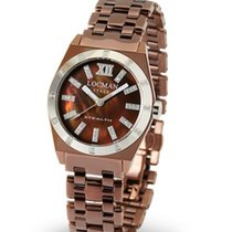 Locman Stealth 0204DN-MNDFNKBRN Quartz Ladies Watch