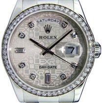Ρολεξ (Rolex) Day-Date 36 118346-SVJDP Silver Jubilee Dial...
