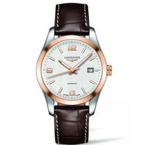 Longines Men's L27855763 Conquest Classic Watch