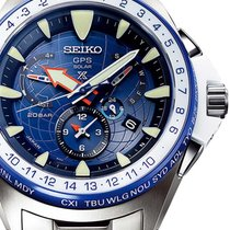 Seiko SSF001J1 Marinemaster GPS Solar Dual-Time Limited 48mm...