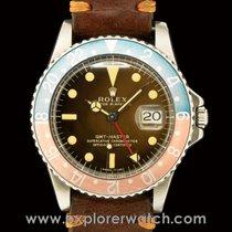 Rolex Gmt-Master 1675 Untouched Gilt Tropical Dial