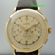 Vintage Eberhard & Co Chronograph 18k Gold