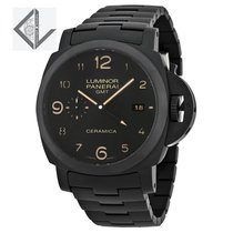 Panerai Luminor Gmt 1950 3 Days All Black Ceramic Pam438 -...