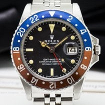 Rolex 1675 Vintage GMT Master FIRST SERIES Matte Dial Small...