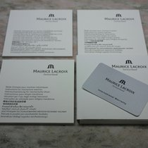 Maurice Lacroix vintage complete kit warranty card blank...