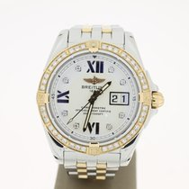 Breitling Galactic Grande Date Steel/Yellowgold (B&P2011)...