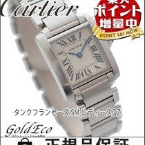 Cartier 【カルティエ】 タンクフランセーズSM レディース腕時計【中古】 クォーツ W51028Q3...