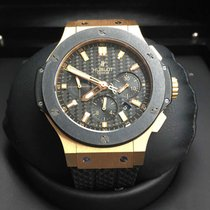 Hublot Big Bang 44mm 18K Rose Gold/Ceramic Bezel/Carbon Dial