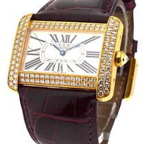 Cartier WA301170 Tank Divan - Large Size - Yellow Gold on...