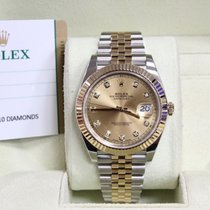 Rolex Datejust II 126333 Factory Diamond Dial 18K YG  &...